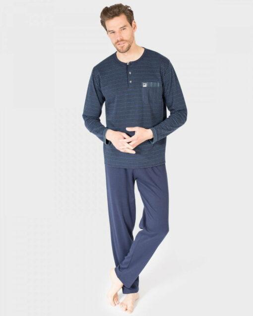 Pijama Hombre Tapeta Marino