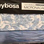 Juego Sábanas Micronacar Clasic Azul width=