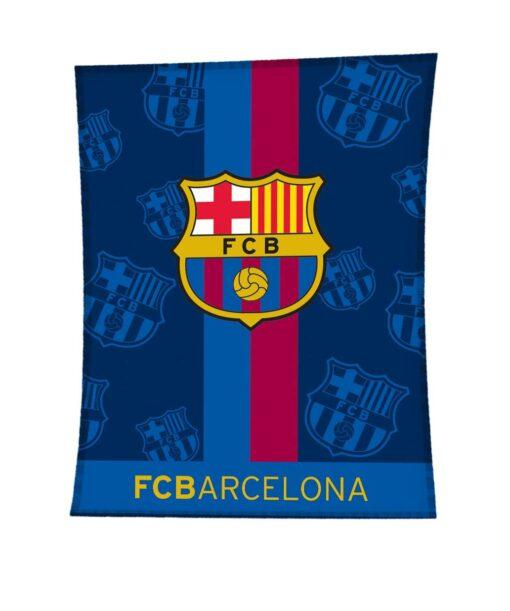 Manta Terciopelo F.C. Barcelona