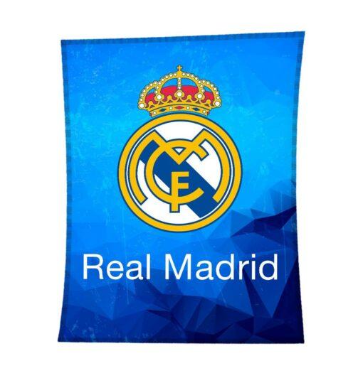 Manta Terciopelo Real Madrid