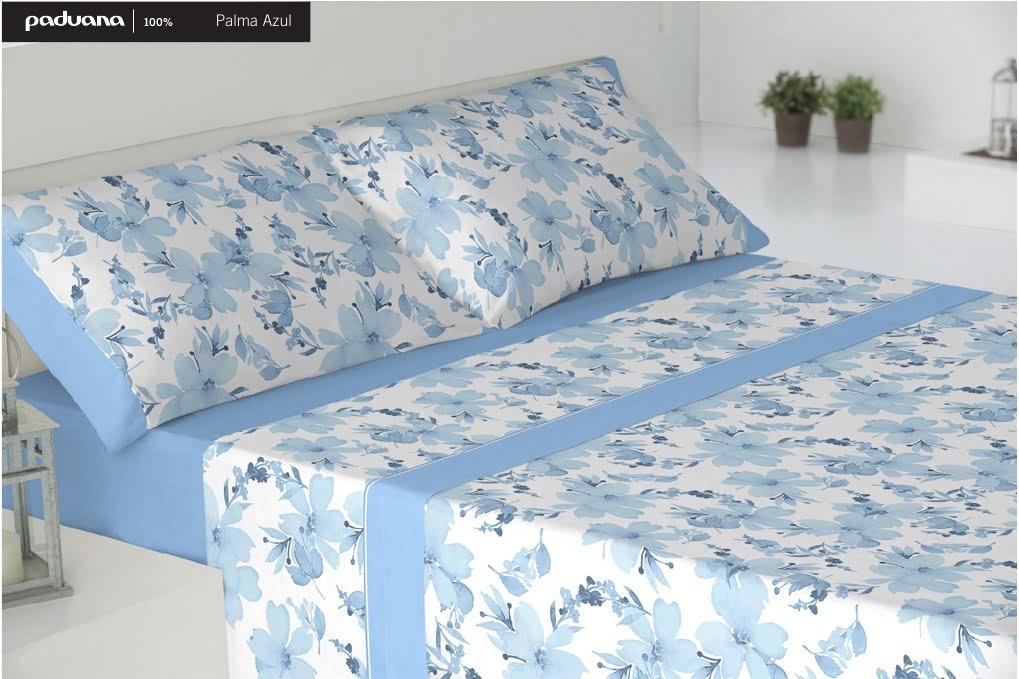Sábanas Paduana Palma Azul