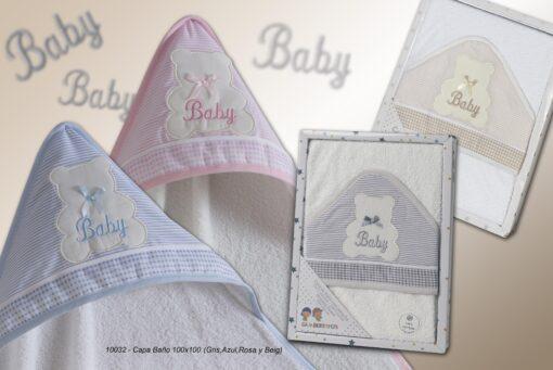 Capa de Baño Bebé Ref.10032