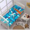 Saco Nordico Cuna Circuit Azul