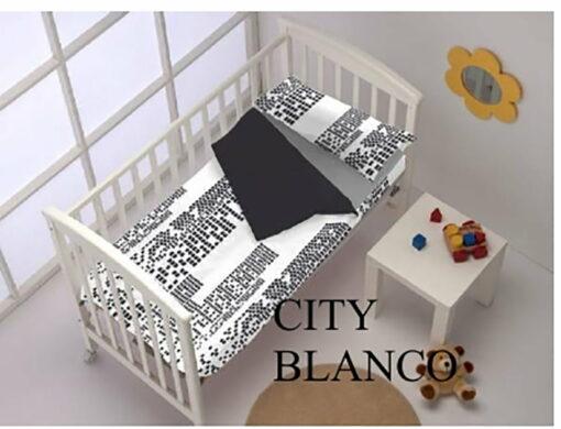 Saco Nordico Cuna City Blanco