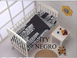 Saco Nordico Cuna City Negro