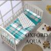 Saco Nordico Cuna Oxford Aqua