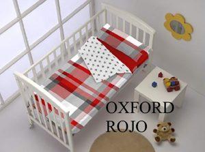 Saco Nordico Cuna Oxford Rojo