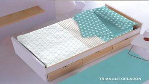 Saco Nórdico Triangle Celadon