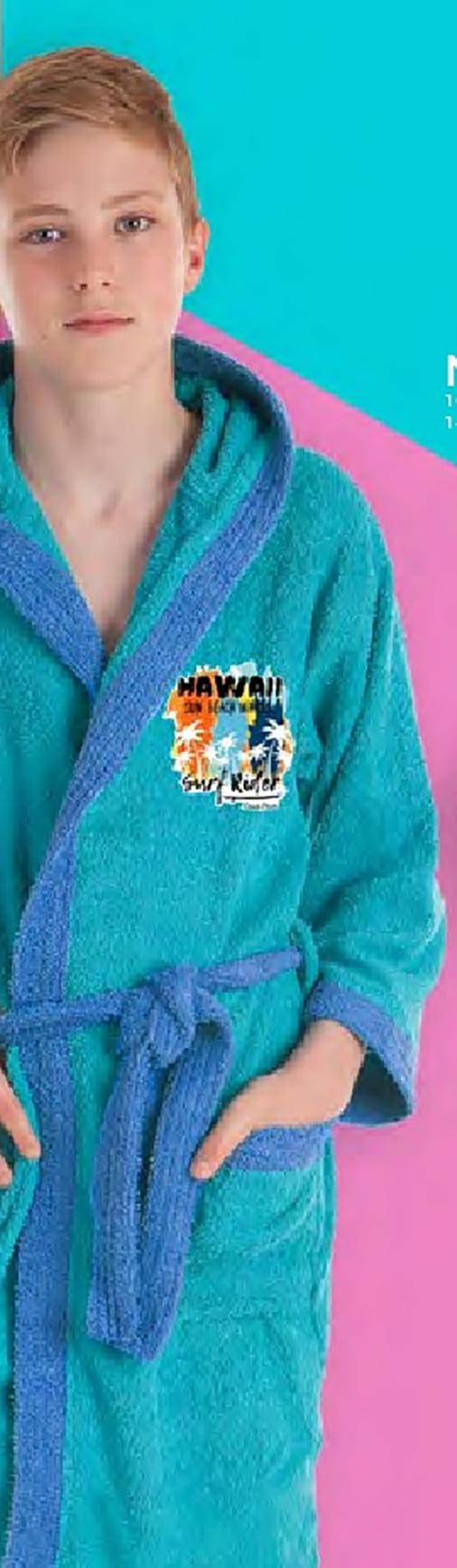 Albornoz Infantil Hawai