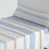 Juego Sábanas Coralina Turpis Azul