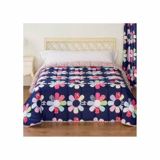 Edredón Comforter Reversible Violeta