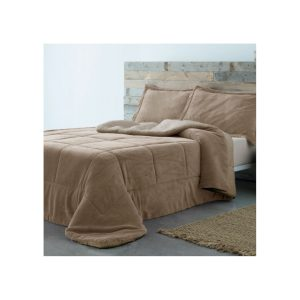 Edredón Comforter Sherpa Beige