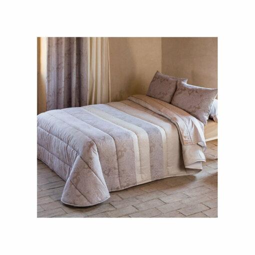 Edredón Comforter Jacquard Roma Beige