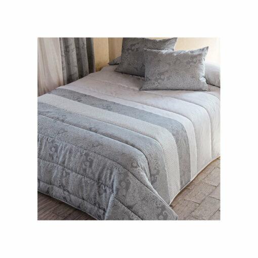 Edredón Comforter Jacquard Roma Gris