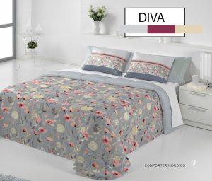 Edredón Conforter Diva Perla