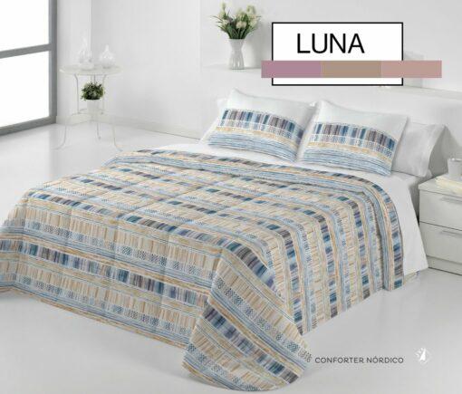 Edredón Conforter Luna Azul