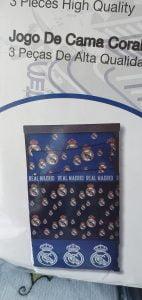 Sábanas Coralina Real Madrid Azul