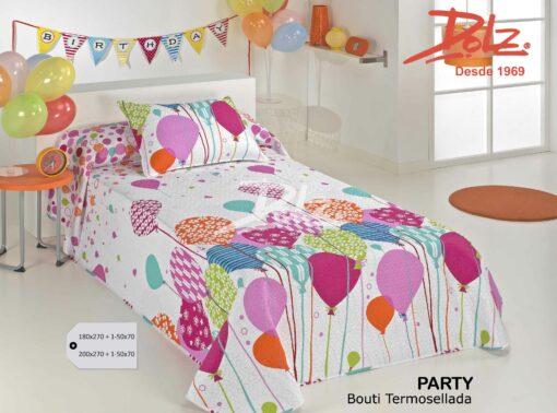Colcha Bouti Infantil Party