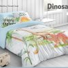 Funda Nórdica 2pz. Dinosaure