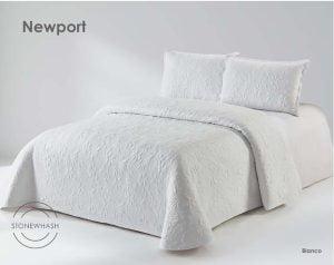 Colcha Bouti Newport Blanco