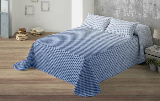 Colcha Bouti Rubik Azul