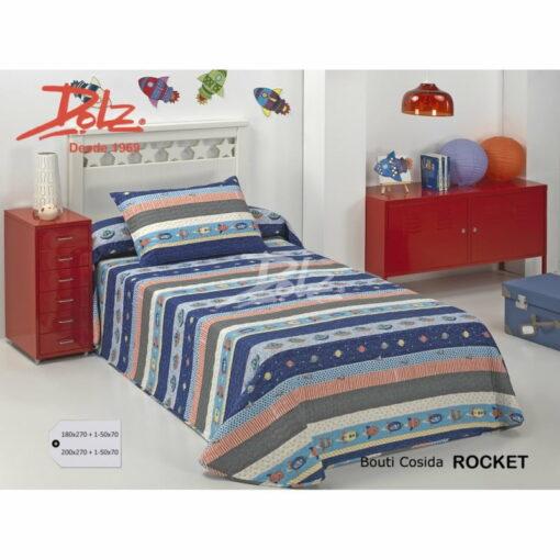 Colcha Bouti Infantil Rocket