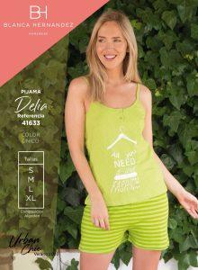Pijama Mujer Delia