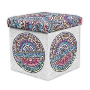Caja Puff Guardacosas Zen