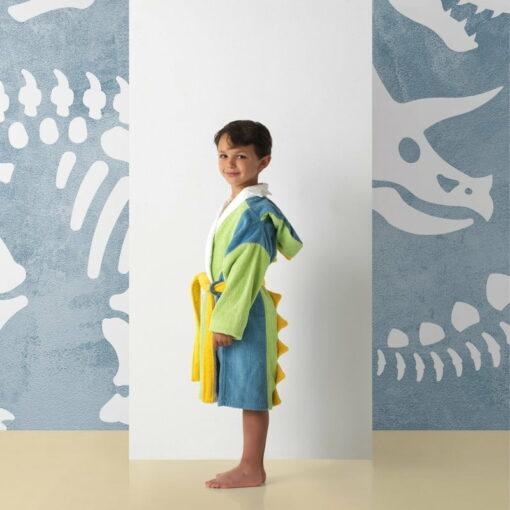 Albornoz Infantil Dino