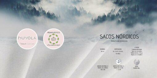 Saco Nórdico Nuvola Scalier