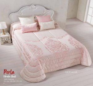 Edreón Bouti Reversible Perla Rosa