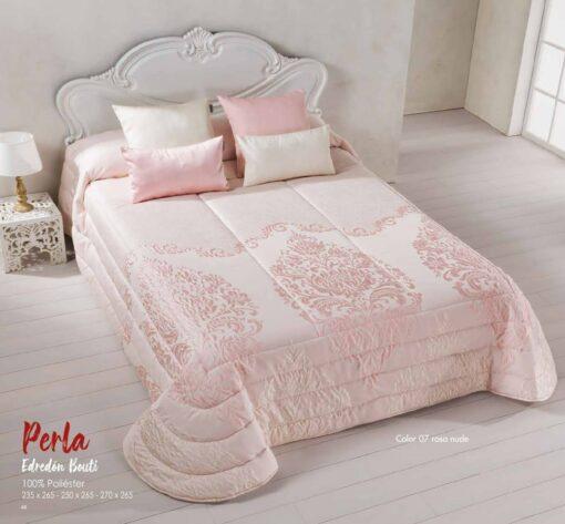 Edredón Bouti Reversible Perla Rosa