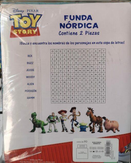 Funda Nórdica Infantil Toy Story
