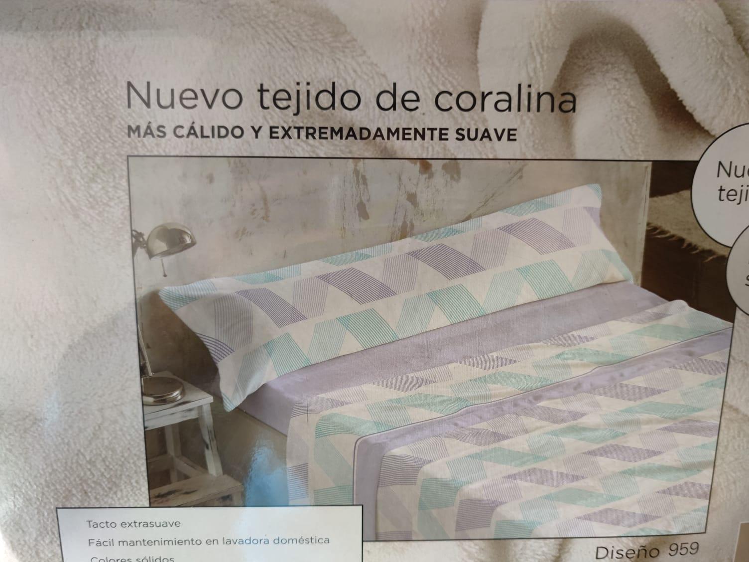 Sabanas Coralina Burrito Blanco 959