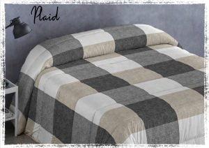 Edredon Conforter Plaid