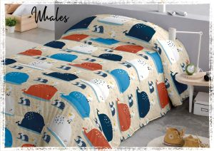 Edredon Conforter Infantil Whales