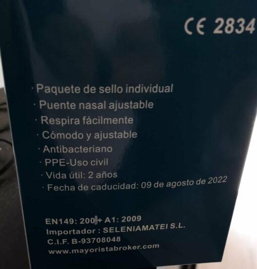Mascara Protectora FFP2