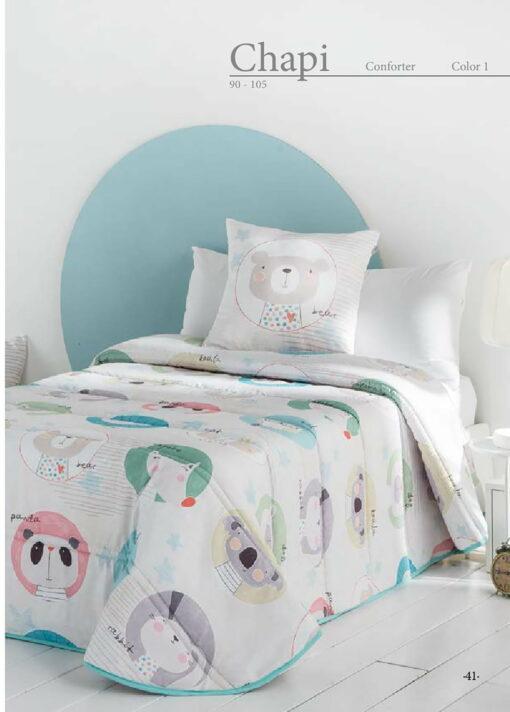 Edredón Conforter Infantil Chapi 1