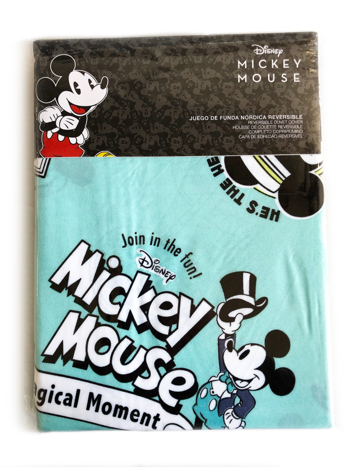 Funda Nórdica Reversible 2pz. Mickey