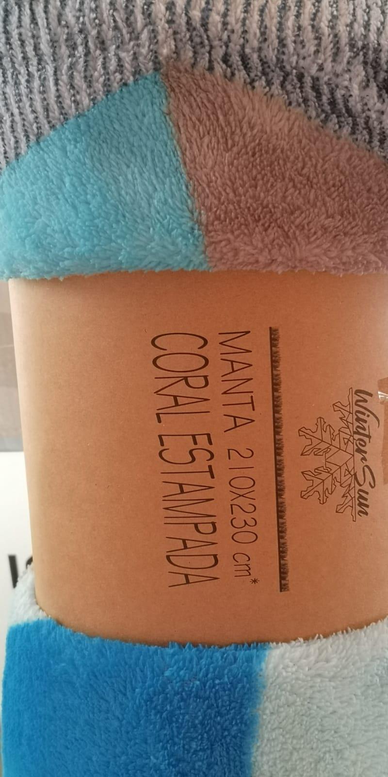 Manta Coralina Multicolor