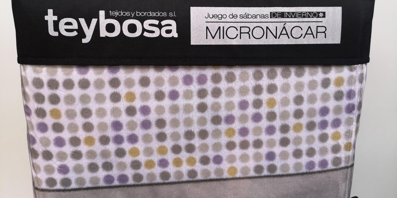 Juego Sábanas Micronacar Points