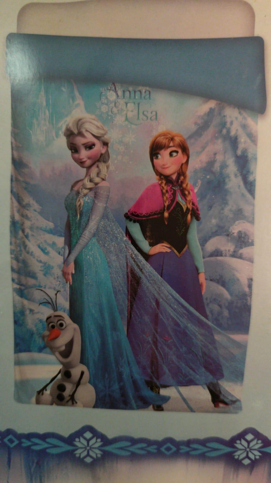 Edredón Nórdico Infantil Anna y Elsa