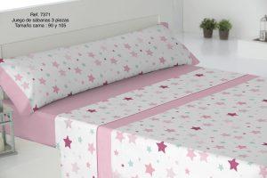 Sábanas Infantiles Ref: 7371 Rosa