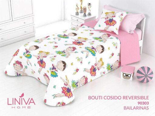 Colcha Bouti Infantil Bailarinas