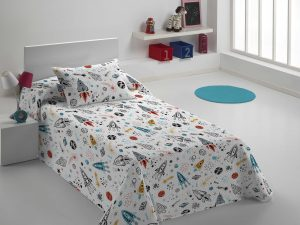 Colcha Bouti Infantil Space