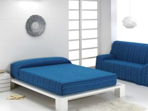 Foulard Multiusos Rayas Azul