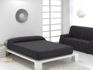 Foulard Multiusos Rayas Negro-Blanco