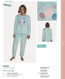 Pijama Coralina 230302