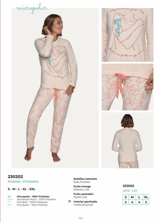 Pijama Micropolar 532002