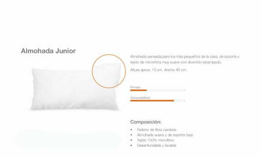 Almohada Junior Comotex
